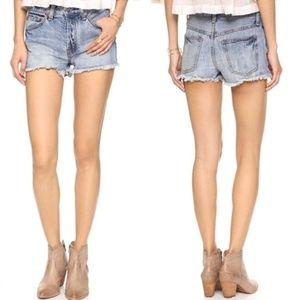 [Free People] Rock Denim Uptown shorts #Q03